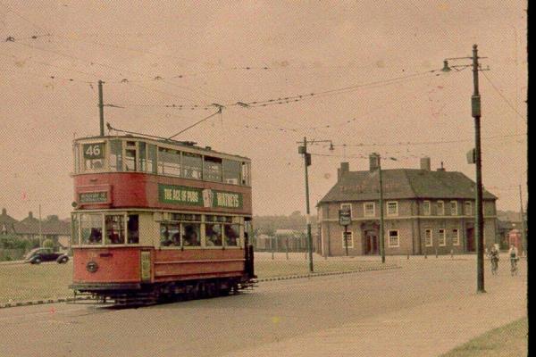 trams in their last years. Black Bedroom Furniture Sets. Home Design Ideas