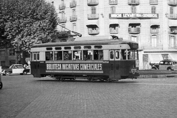 Barcelona Single Deck Trams